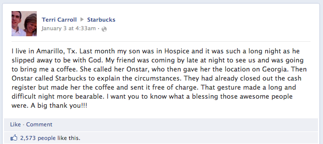 Starbucks-storytelling