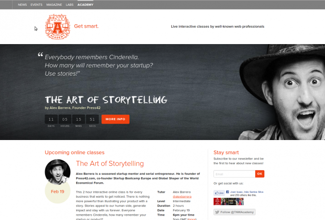 Bringing the Storytelling workshop close to you